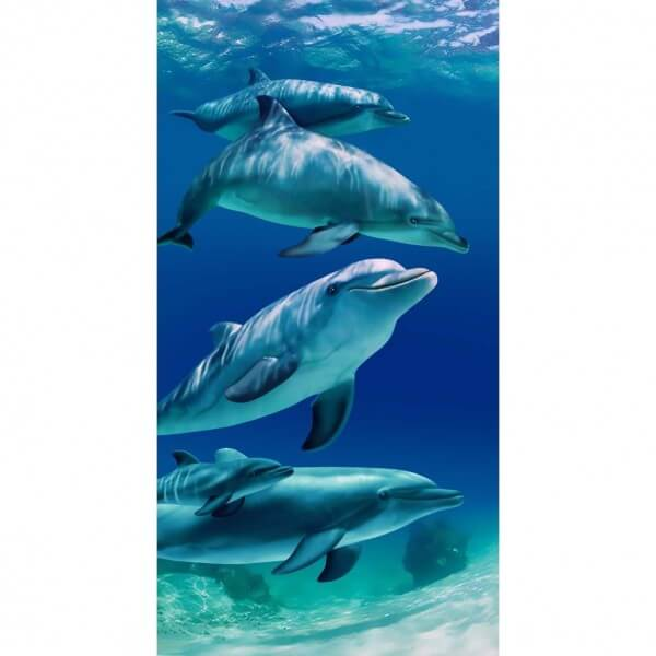 Strandtuch Delfine - Flipper Familie