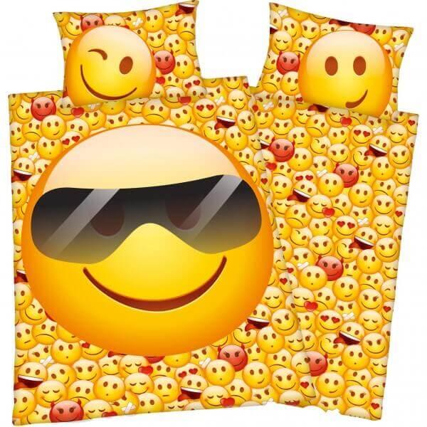 Bettwäsche Young Collection Emot!x Sonnenbrille