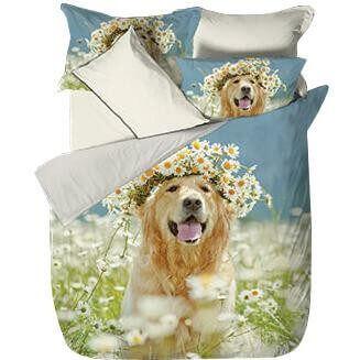 Bettwäsche Cute Dog Fotodruck Bettwäsche Sale Schlafshopch