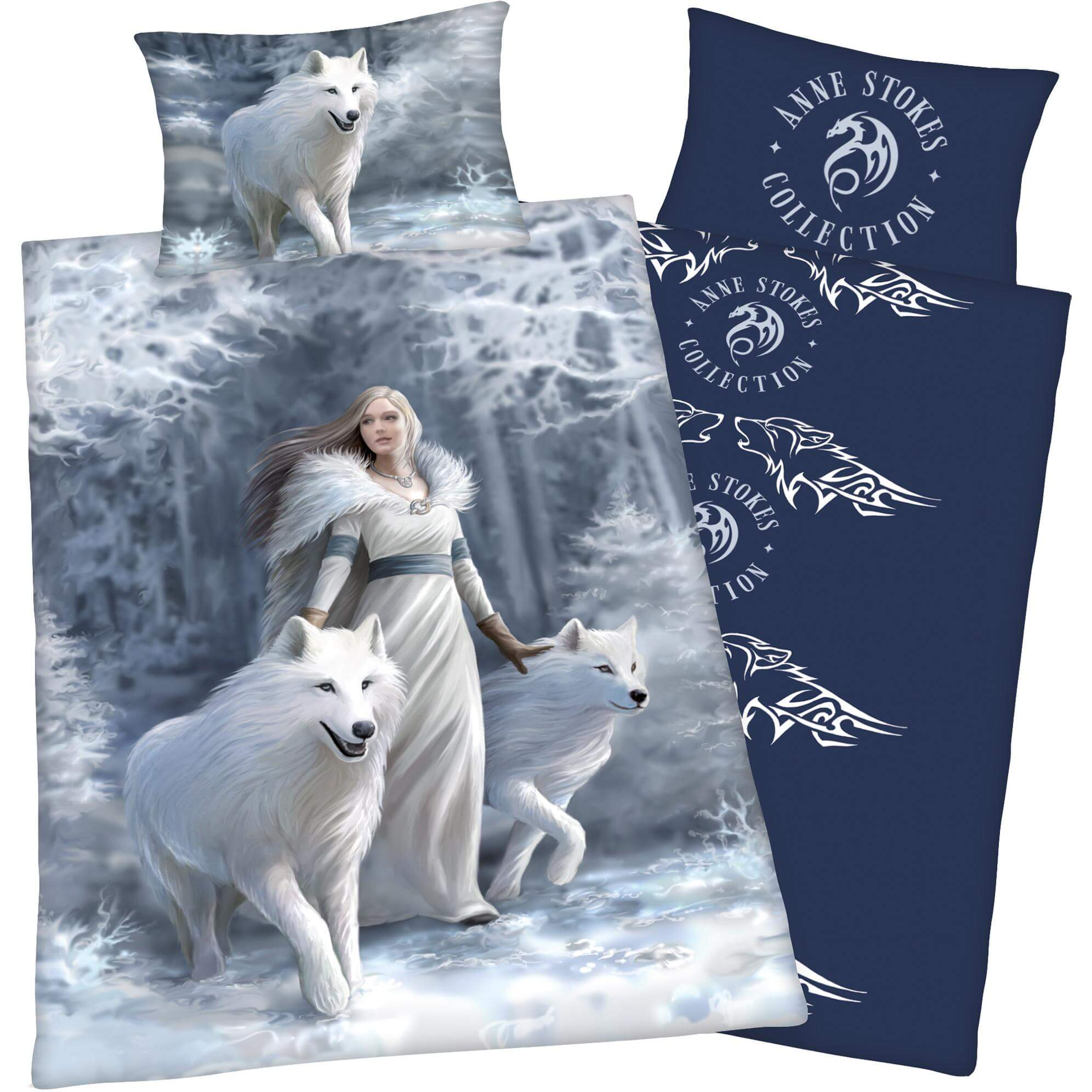 Bettwäsche Anne Stokes Gothic Mit Wolf