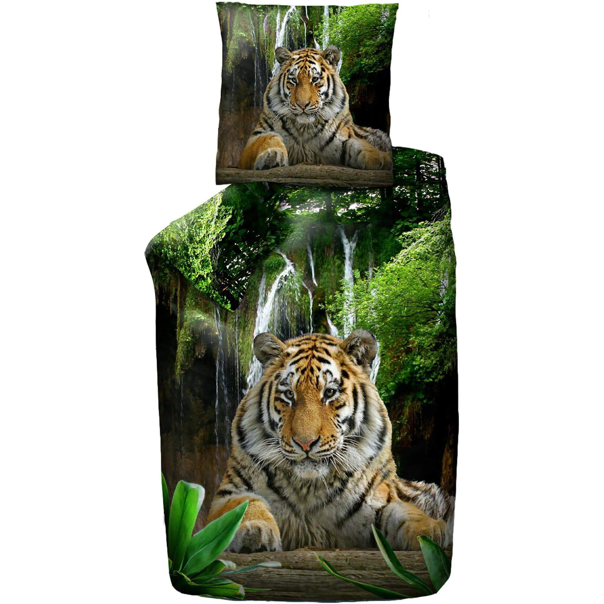Bettwäsche Tiger Tiere Kinder Jugend Bettwäsche Schlafshopch