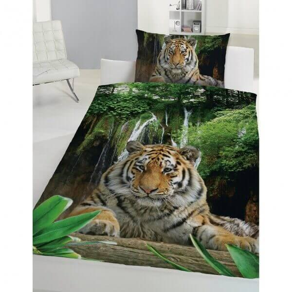 Bettwäsche Tiger