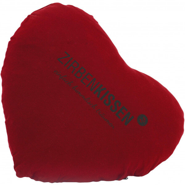 ZirbenKissen Herz rot