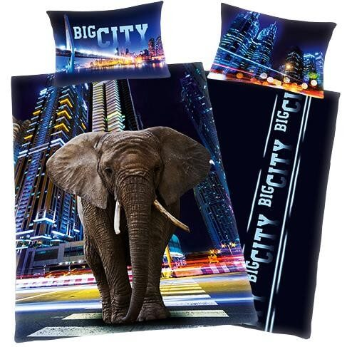 Bettwäsche Big City Elefant
