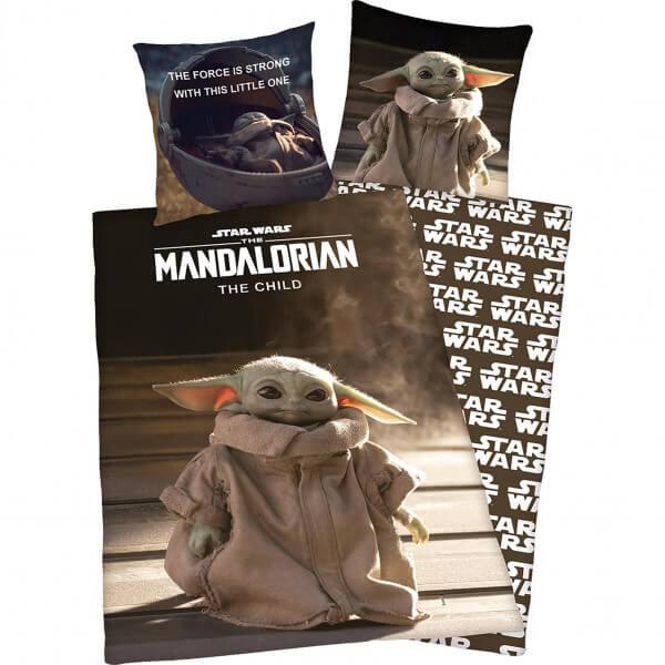 Bettwäsche Star Wars «The Mandalorian» Baby Yoda