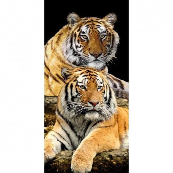 Strandtuch Tigerpaar