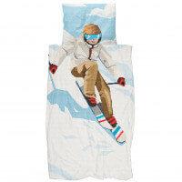 SNURK Bettwäsche Ski Boy