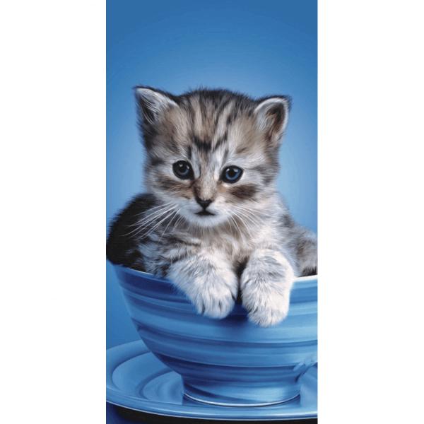Strandtuch Katze