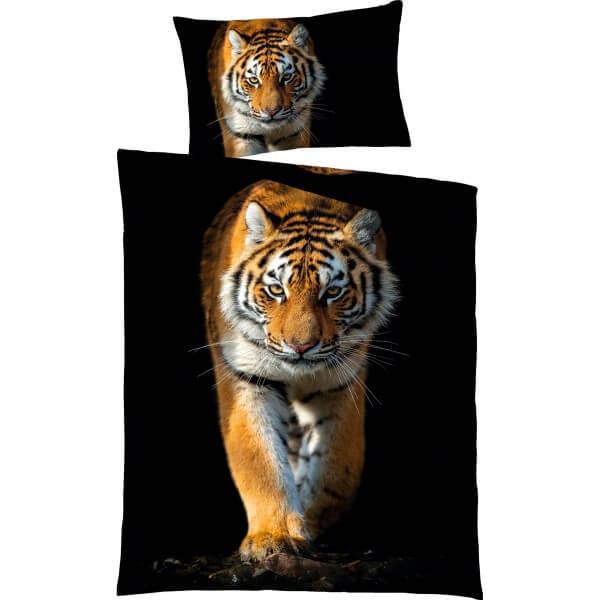 Bettwäsche Tiger Satin