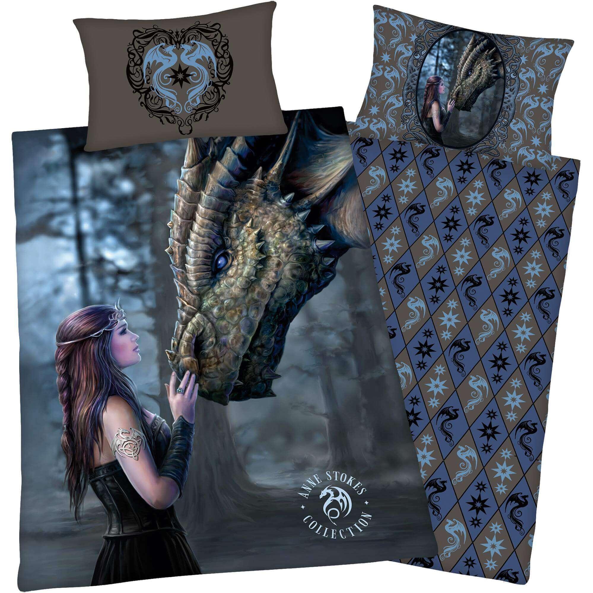 Bettwäsche Anne Stokes Gothic Dragon