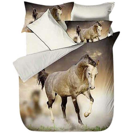 Bettwäsche Wildes Pferd Tiere Kinder Jugend Bettwäsche