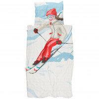 SNURK Bettwäsche Ski Girl