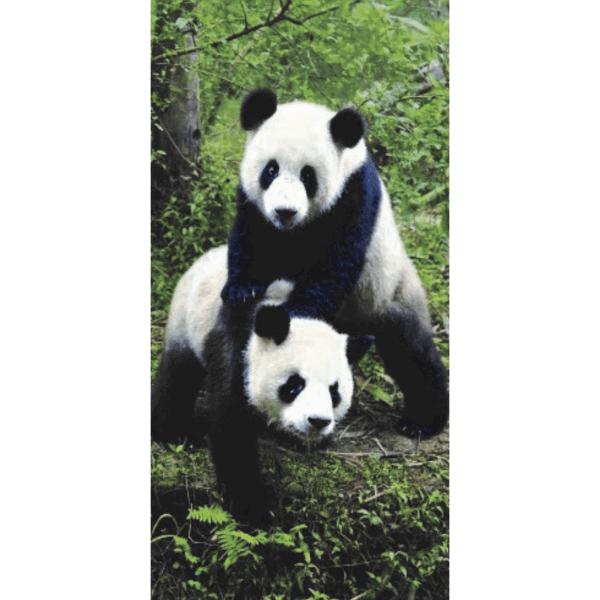 Strandtuch Panda