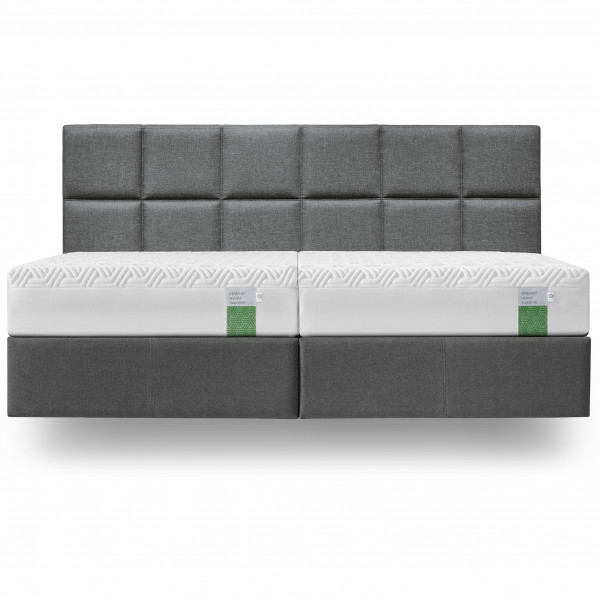 TEMPUR Boxspring Bett mit starrer Foundation