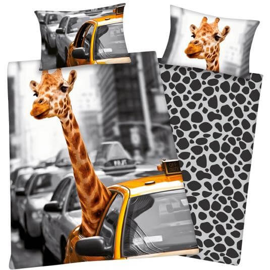 bettw sche new york safari erwachsene bettw sche. Black Bedroom Furniture Sets. Home Design Ideas