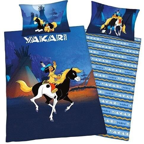 Bettwäsche Yakari und Pferd kleiner Donner