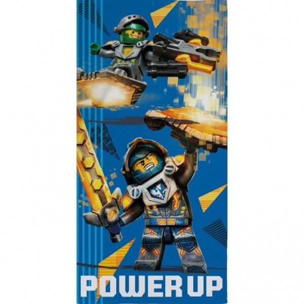 Strandtuch Lego Knights Power Up
