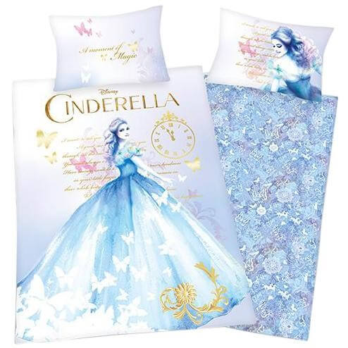 Bettwäsche Disney Cinderella Disney Kinder Jugend Bettwäsche