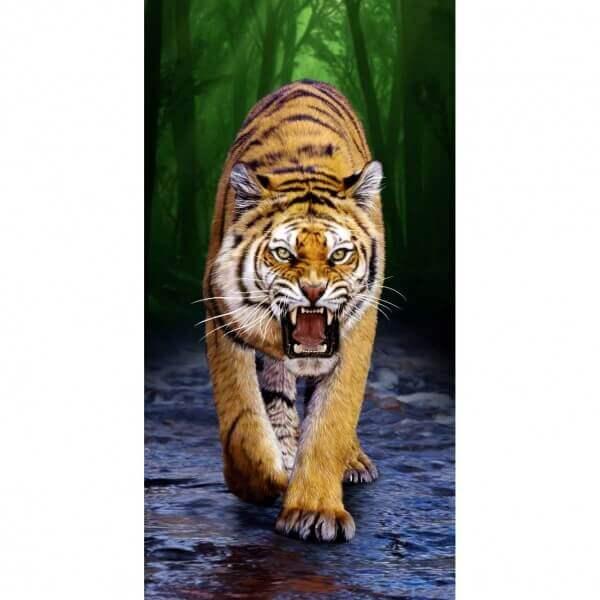 Strandtuch Raubkatze-Tiger