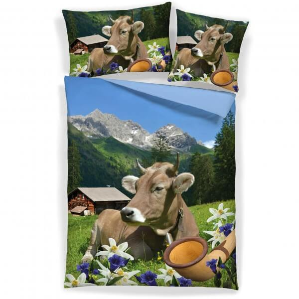 Bettwäsche Kuh