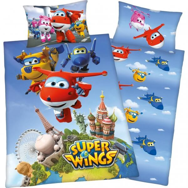 Bettwäsche Super Wings