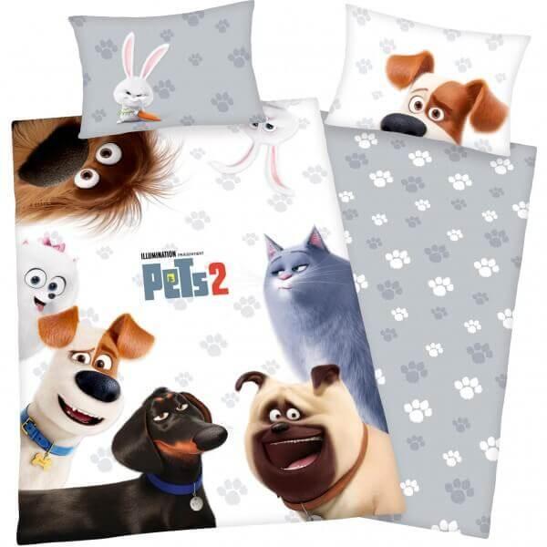 Bettwäsche Pets 2 alle Tiere