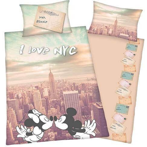 Bettwäsche Disney's Mickey & Minnie NY