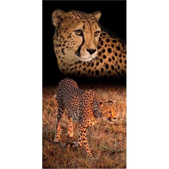 Strandtuch Gepard