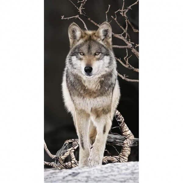 Strandtuch Wolf