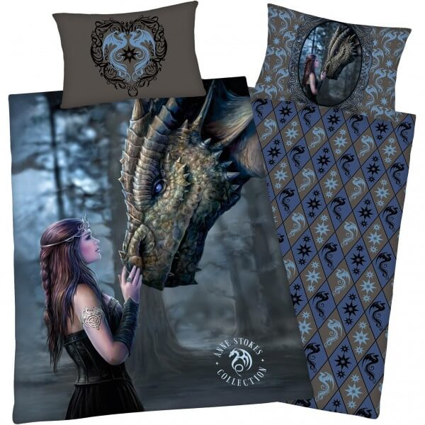 Bettwäsche Anne Stokes, Gothic Dragon