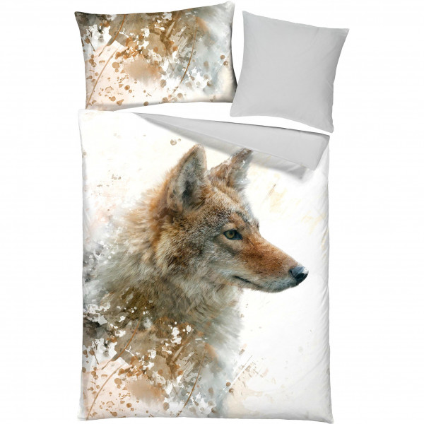 Bettwäsche Wolf Renforcé