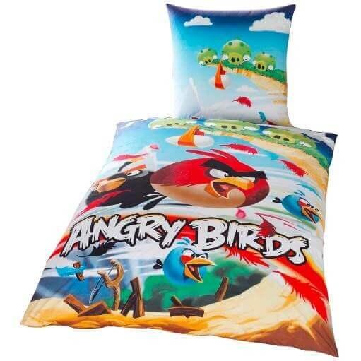 Bettwäsche AngryBirds