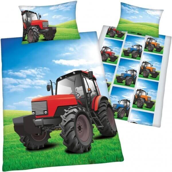 Bettwäsche Young Collection Traktor
