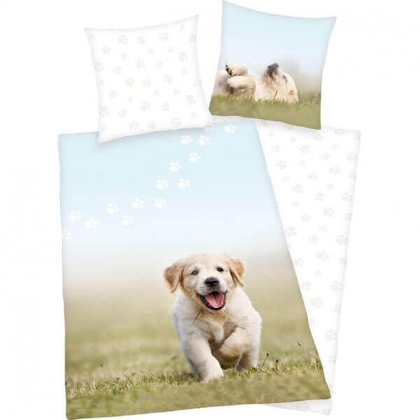 Bettwäsche Hunde-Welpe