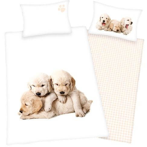 Bettwäsche Hunde-Labrador Babys