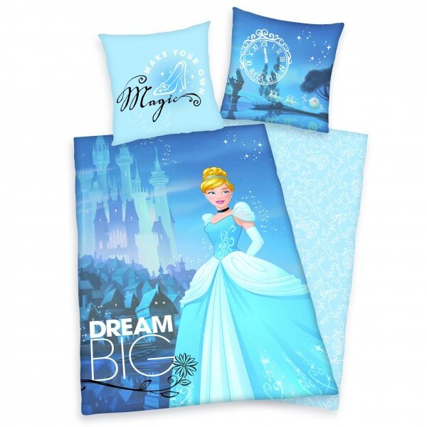 Bettwäsche Disney's Princess blau