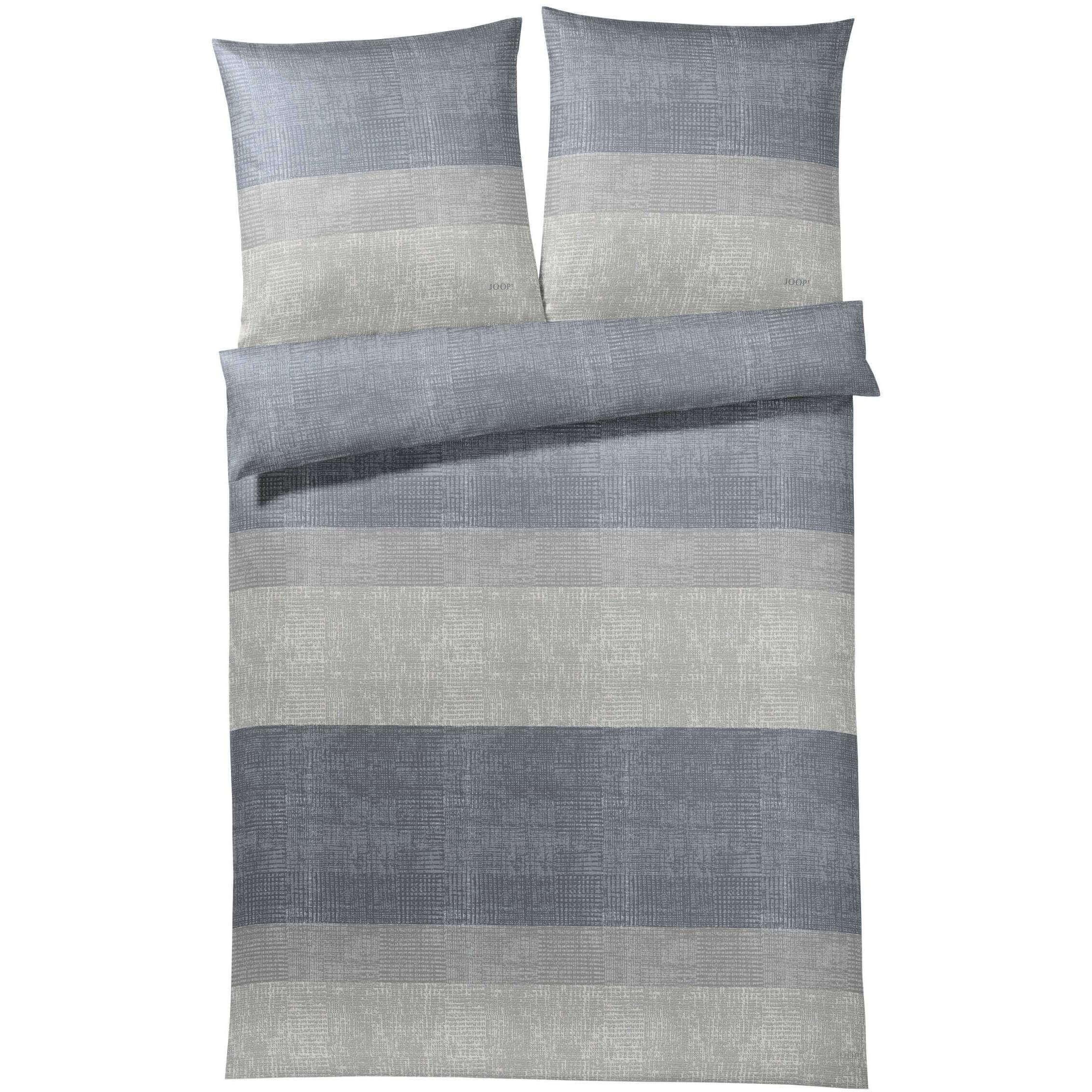 Joop Bettwäsche Sparkling Stripes Stone Erwachsene Bettwäsche