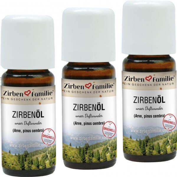 ZirbenÖl 3er-Pack 10 ml