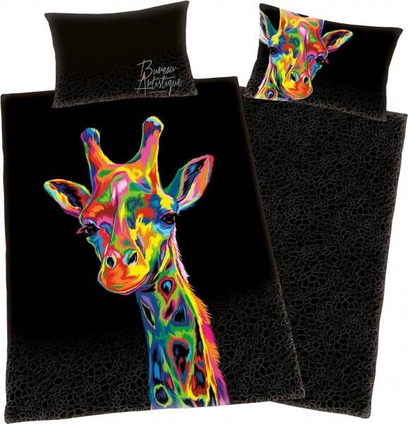 """Bettwäsche """"Bureau Artistique"""" Giraffe"""