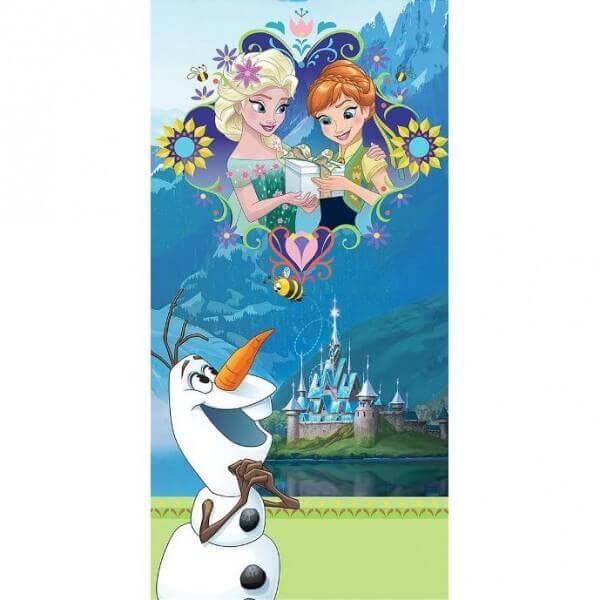 """Strandtuch Disney's Eiskönigin """"Frozen Castle"""""""