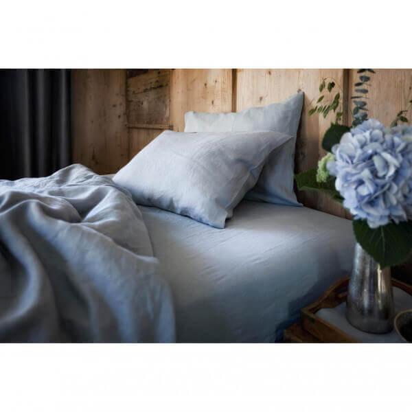 Bettwäsche Leinen Classic Blau