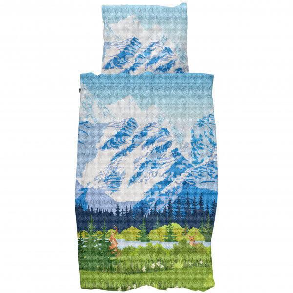 SNURK Bettwäsche Across The Alps