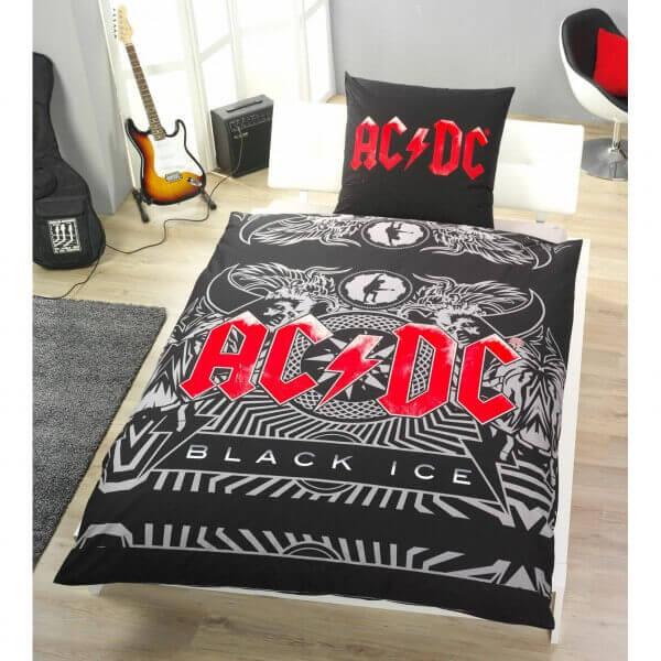 Bettwäsche AC/DC Black Ice
