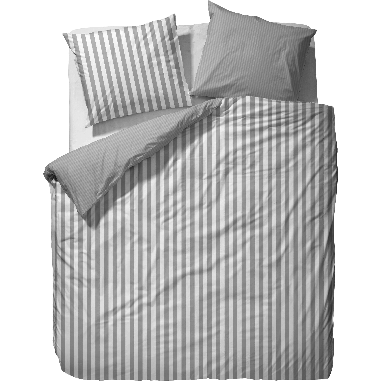 Marc Opolo Bettwäsche Classic Stripe Grey Bettwäsche Sale
