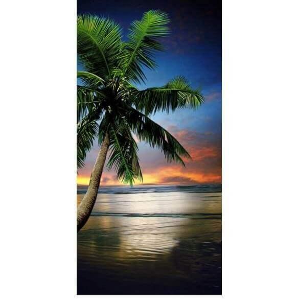 Strandtuch Sonnenuntergang