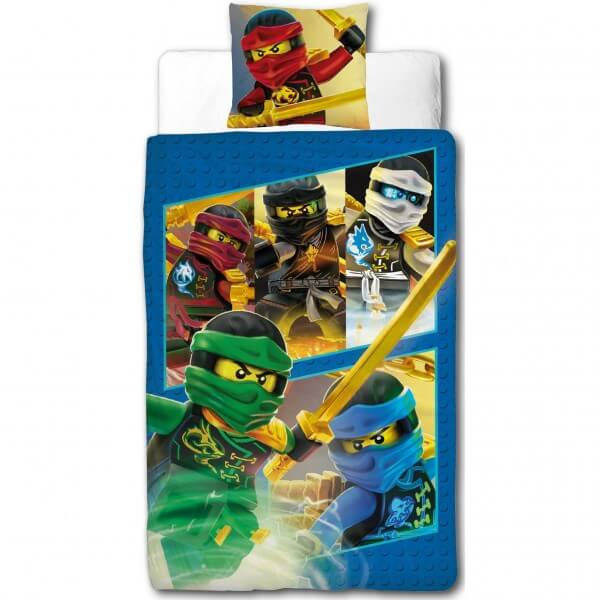 Bettwäsche Lego Ninjago Ready Comic Kinder Jugend Bettwäsche