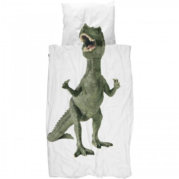 SNURK Bettwäsche Dinosaurier