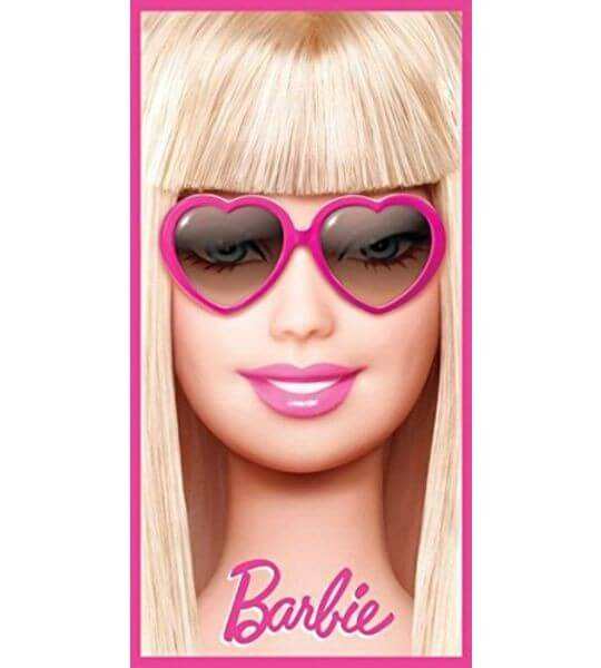 Strandtuch Barbie