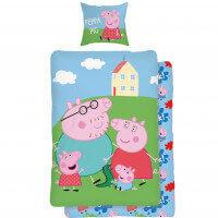 Bettwäsche Peppa Pig Familie
