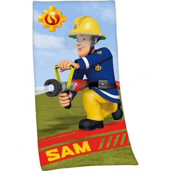 Strandtuch Sam der Feuerwehrmann